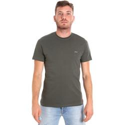 textil Hombre Camisetas manga corta Les Copains 9U9011 Verde