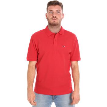 textil Hombre Polos manga corta Les Copains 9U9015 Rojo