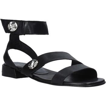Zapatos Mujer Sandalias Mally 6825 Negro