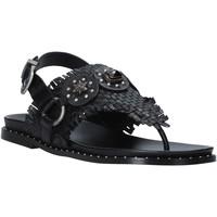 Zapatos Mujer Sandalias Mally 6562 Negro