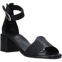 Zapatos Mujer Sandalias Mally 6866G Negro