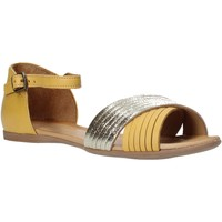 Zapatos Mujer Sandalias Bueno Shoes N0734 Amarillo