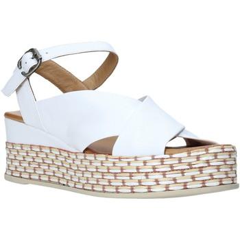 Zapatos Mujer Sandalias Bueno Shoes Q5901 Blanco