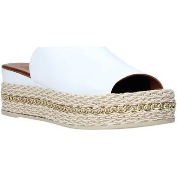 Zapatos Mujer Zuecos (Mules) Bueno Shoes Q5905 Blanco