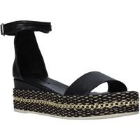 Zapatos Mujer Sandalias Bueno Shoes Q5908 Negro