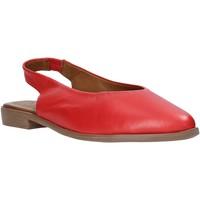 Zapatos Mujer Sandalias Bueno Shoes N0102 Rojo