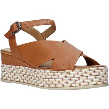 Zapatos Mujer Sandalias Bueno Shoes Q5901 Marrón