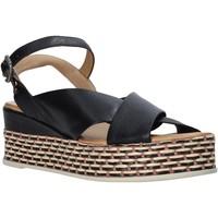 Zapatos Mujer Sandalias Bueno Shoes Q5901 Negro
