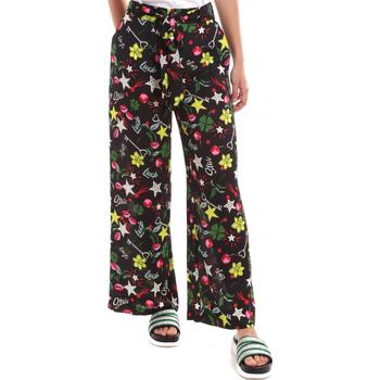 textil Mujer Pantalones fluidos Liu Jo WA0058 T9147 Negro