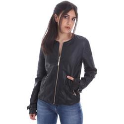 textil Mujer Chaquetas de cuero / Polipiel Gaudi 011BD38001 Negro