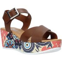 Zapatos Mujer Sandalias Grace Shoes 12 Marrón