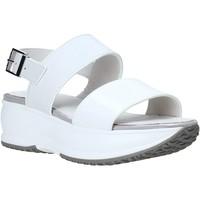 Zapatos Mujer Sandalias Lumberjack SW84406 001 Y22 Blanco