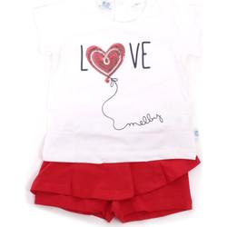 textil Niña Conjunto Melby 20L7001 Rojo