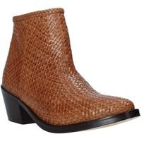 Zapatos Mujer Botines Mfw 172883MW Marrón