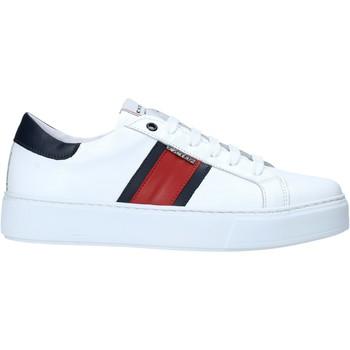 Zapatos Hombre Zapatillas bajas Exton 861 Blanco