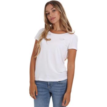 textil Mujer Camisetas manga corta Ea7 Emporio Armani 8NTT64 TJ28Z Blanco