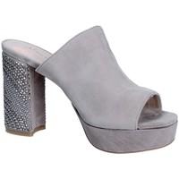 Zapatos Mujer Zuecos (Mules) Alma En Pena V18256 Gris