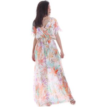 textil Mujer Vestidos largos Gaudi 011FD15038 Naranja