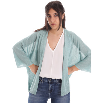 textil Mujer Chaquetas de punto Gaudi 011FD53010 Azul
