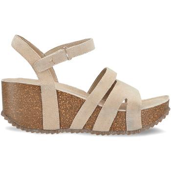 Zapatos Mujer Sandalias Docksteps DSE106442 Beige