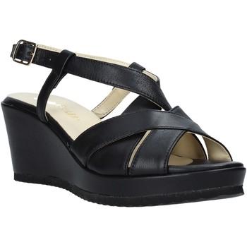 Zapatos Mujer Sandalias Esther Collezioni ZB 018 Negro