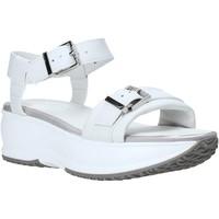 Zapatos Mujer Sandalias Lumberjack SW84406 002 B01 Blanco