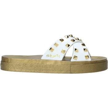 Zapatos Mujer Zuecos (Mules) Sensi 4390/PY Blanco