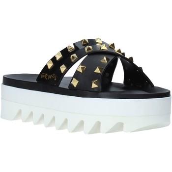Zapatos Mujer Zuecos (Mules) Sensi 4380/LX Negro