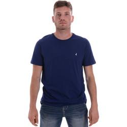 textil Hombre Camisetas manga corta Navigare NV31126 Azul
