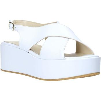 Zapatos Mujer Sandalias Esther Collezioni Z039 Blanco