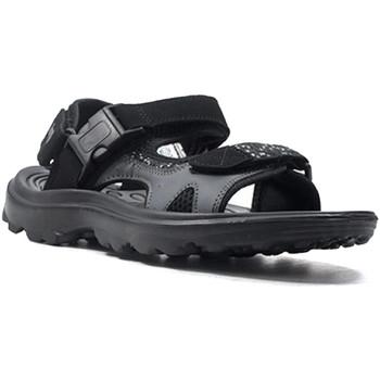 Zapatos Hombre Sandalias Lotto L52294 Negro