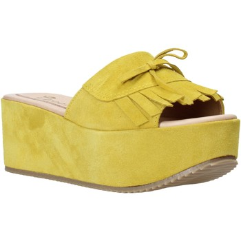 Zapatos Mujer Zuecos (Mules) Grace Shoes C3 Amarillo
