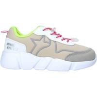 Zapatos Niña Zapatillas bajas Miss Sixty S20-SMS738 Gris