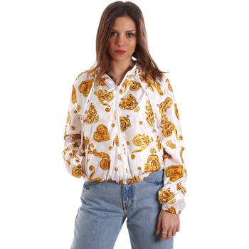 textil Mujer Sudaderas Versace C9HVB92525115003 Blanco