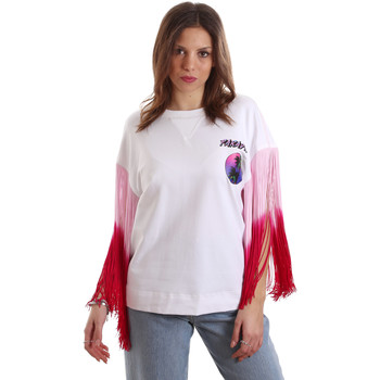textil Mujer Camisetas manga corta Versace B2HVB71511701003 Blanco
