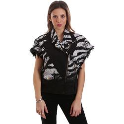 textil Mujer cazadoras Versace C0HVB92DHRC5X899 Negro