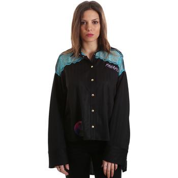 textil Mujer Camisas Versace B0HVB60310623899 Negro