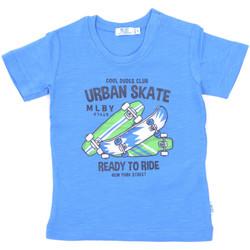 textil Niños Camisetas manga corta Melby 20E7370 Azul