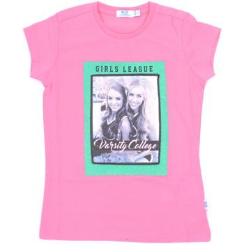textil Niña Camisetas manga corta Melby 70E5645 Rosado