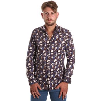 textil Hombre Camisas manga larga Betwoin SELZ 6635535 Azul