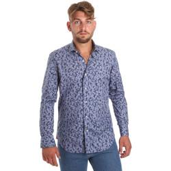 textil Hombre Camisas manga larga Betwoin D066 6635535 Azul