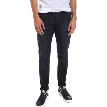 textil Hombre Pantalones chinos Gaudi 011BU25004WC Azul