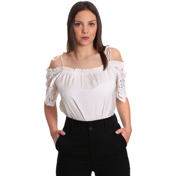 textil Mujer Tops / Blusas Gaudi 811FD45011 Beige