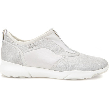 Zapatos Mujer Slip on Geox D829DE 0KY15 Gris