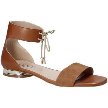 Zapatos Mujer Sandalias Mally 5826 Marrón