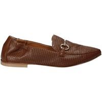 Zapatos Mujer Mocasín Mally 6264 Marrón