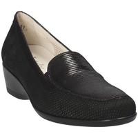 Zapatos Mujer Mocasín Melluso R30506E Negro