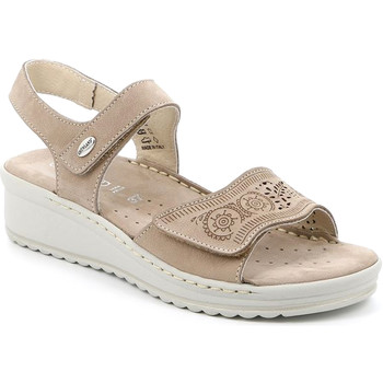 Zapatos Mujer Sandalias Grunland SA2580 Beige