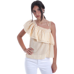 textil Mujer Tops / Blusas Pepe jeans PL303706 Amarillo