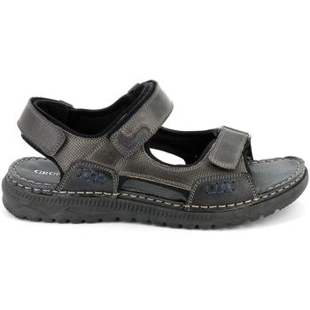 Zapatos Hombre Sandalias Grunland SA2526 Negro